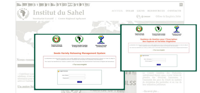 referenza di Monitoring and Evalution Software - INSTITUT SU SAHEL (semences)