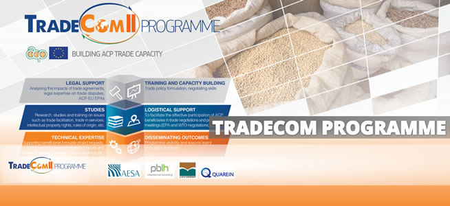 referenza di Monitoring and Evalution Software - TRADECOM II PROGRAMME