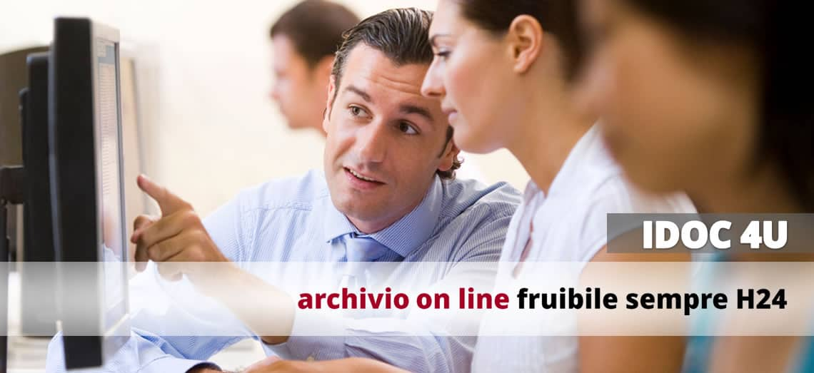 Archivio on line fruibile sempre H24 - IDOC 4U